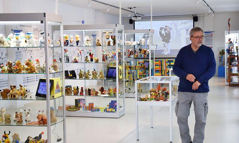 Die Ausstellungsräume der Sammlung Weidner